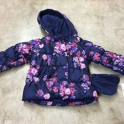 Girls' Clothing (newborn-5t) Popular Brand Rothschild Pink Floral Girls Infant Snow Suit Fleece Lined Size 3-6 Months Nwot Clothing, Shoes & Accessories