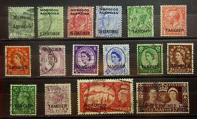 MOROCCO British Colonies Old Stamps - Used - VF - r54e6134
