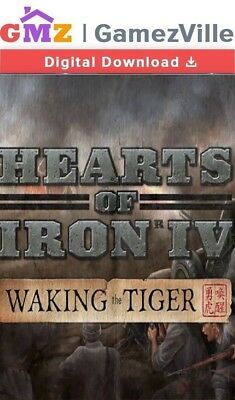 Hearts of Iron IV Waking the Tiger DLC Steam Key PC Download