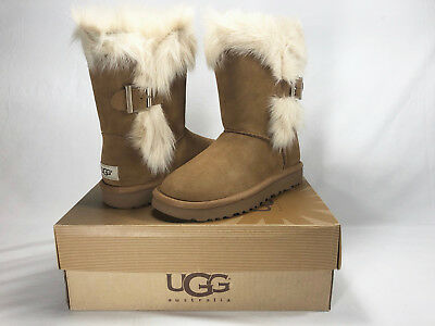 32f0e7f0760 UGG WOMEN'S DEENA Chestnut Suede boots New With Box! - $154.95 ...
