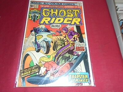 GHOST RIDER #13 Marvel Comics 1975 VG-