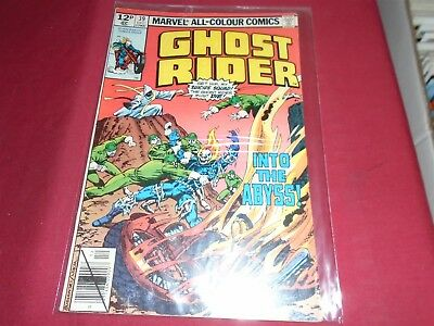 GHOST RIDER #39 Marvel Comics 1979 VG/FN