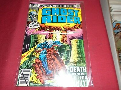 GHOST RIDER #40 Marvel Comics 1980 FN/VF