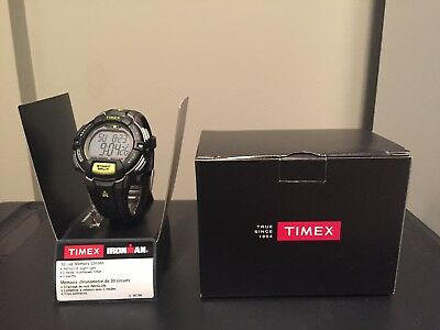Timex Ironman T5K790, 30 Lap Sports Watch with, Indiglo Night Light, New in Box