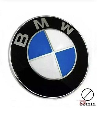 Stemma Cofano Per Bmw 82 Mm Logo Emblema Fregio Badge 3M 82Mm Cofano