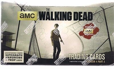 The Walking Dead Season 4 Pt 2 Hobby Box Unopened