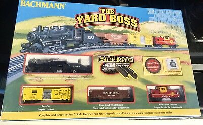 Bachmann The Yard Boss Train Set 24014 Ready To Run N Gauge New Unopened
