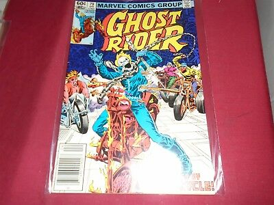 GHOST RIDER #7 Marvel Comics 1984 VG/FN
