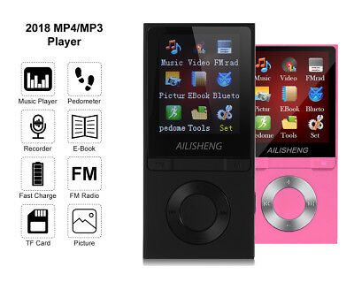 MP4 Player Bluetooth MP3 Music Players Touch Screen 8GB like iPod Nano Radio New