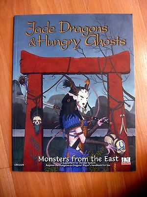 Jade Dragons & Hungry Ghosts D20 Dungeon & Dragons 3.0/3.5 Green Ronin new