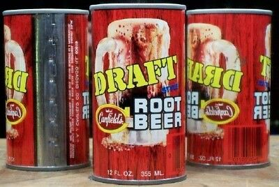Canfield's Draft Root Beer Soda Pop A/F Can Chicago 60637 Illinois 444