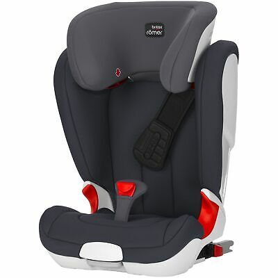 Britax Romer KIDFIX II XP Group 2 / 3 R44/04 Child / Kids Car Seat - Storm Grey