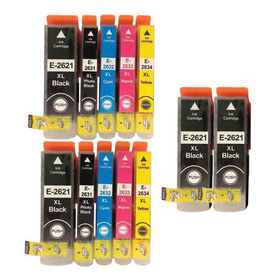 12 Ink Cartridges for Epson XP-510 XP-600 XP-610 XP-605 XP-615 XP-620 XP-625