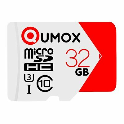 QUMOX 32GB MICRO SD MEMORY CARD CLASS 10 Exrteme 32 GB SPEICHERKARTE Nov
