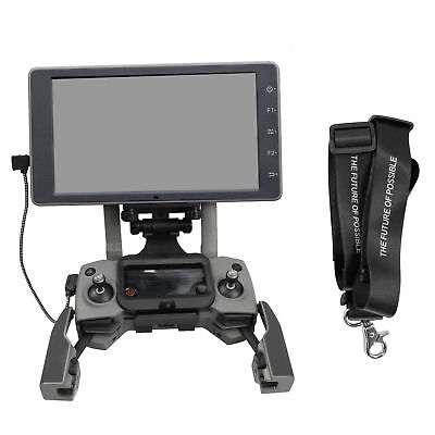 Foldable Crystal Sky Monitor Holder with Lanyard and Cable for DJI Controllers