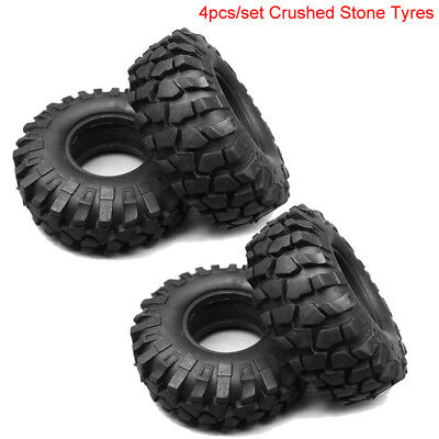 Replacement Crushed Stone/Climbing Tire Tyre For 1:10 RC Rock Crawlers Car 110mm