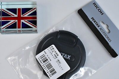 100% Genuine Original Pentax O-Lc77 77Mm Snap On Lens Cap Brand New In Bag In Uk