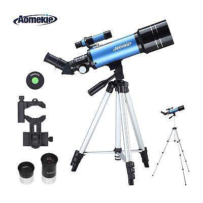 Telescope 40070 with Adjustable Tripod Phone Adapter for Moon Watching Monocular