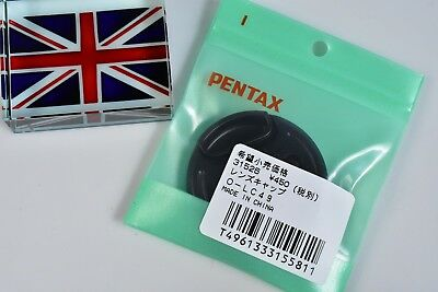 100% Genuine Original Pentax O-Lc49 49Mm Snap On Lens Cap Brand New In Bag In Uk