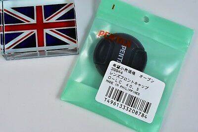 100% Genuine Original Pentax O-Lc40.5 40.5Mm Snap On Lens Cap New In Bag In Uk