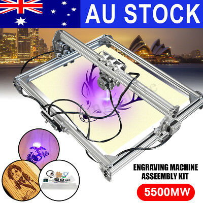 AU Pro 5500MW 100x100cm Laser Engraving Engraver Cutter Logo Mark Carver Printer