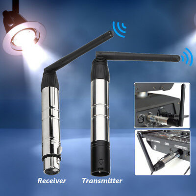2.4G Wireless DMX512 Receiver / Transmitter System Lighting Controller Equipment