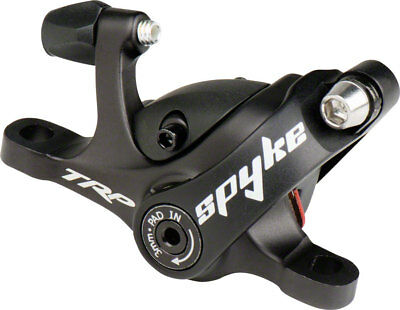 TRP Spyke Mechanical Post-Mount Caliper for long-pull levers without rotor Black