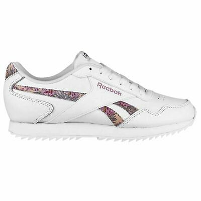 ddb0dcd520c Reebok Royal Glide Ripple Sneakers Ladies Classic Laces Fastened Padded  Ankle