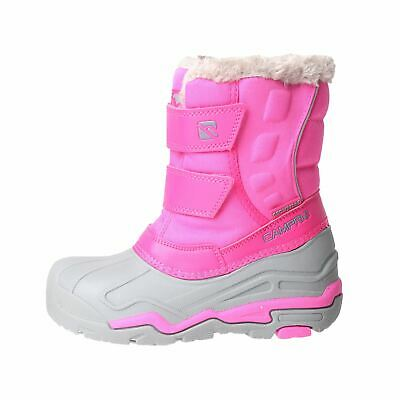 Campri Youngster Snow Boots Childrens Water Repellent Touch and Close Winter