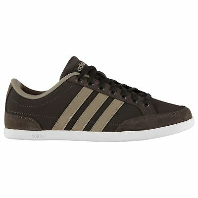 Adidas Caflaire Nubuck Sneakers Mens Gents Court Laces Fastened Padded Ankle