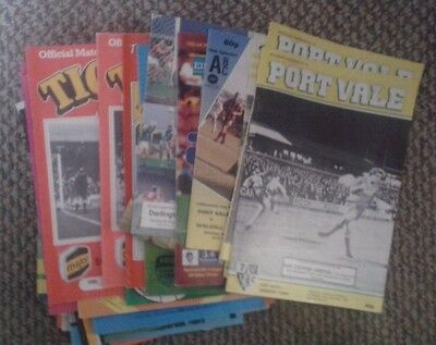 Mixed 1980's Football Programmes all listed (109) FREE POST