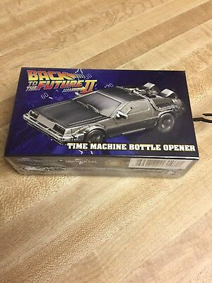 Back to the Future II: Time Machine Bottle Opener  Brand New Sealed