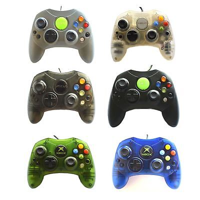 Official Genuine Microsoft Xbox Original S Controller Multiple Colours Available