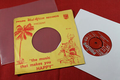 Yaw Krobo & His Stars  MADI AMIA / YAA YAA  7'' Single Philips 383171 PF Ghana