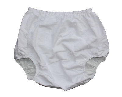 New Adult Incontinence Flannel pants inside PVC #PM003-7