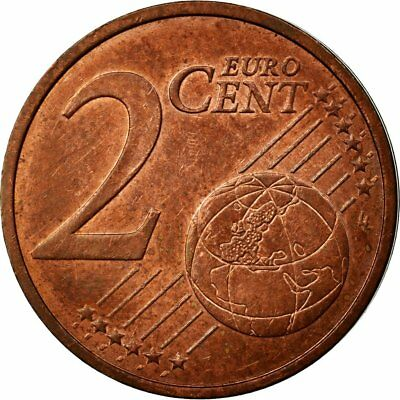 [#512085] Eurozone, 2 Euro Cent, Double revers, AU(55-58), Coppered Steel