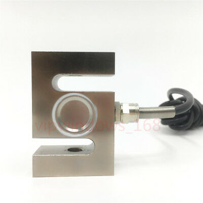 Load Cell Beam Weight Sensor Scale 200kg Weighing S Type Alloy Steel Force Tool