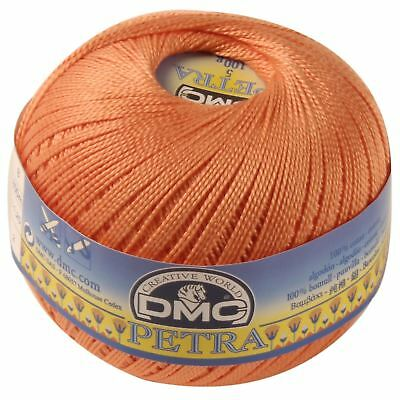 DMC Petra Crochet Thread - Colour: 5608 - Cotton - Size 3 - 100g