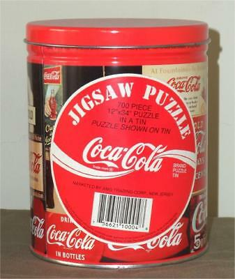 Coca-Cola  ~ 700 Piece Jigsaw Puzzle In Tin ~ Lot 1