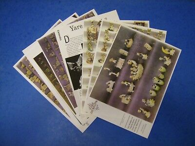 Yare pottery Dragon 14 pages of information,pictures and prices lists