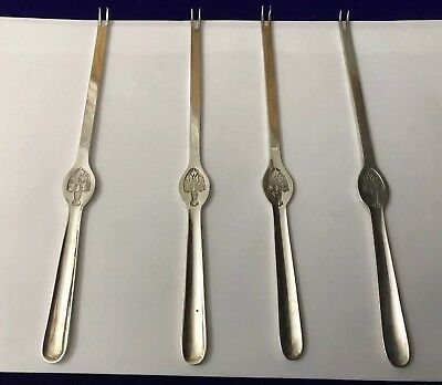 Antique Vintage German WMF Silver Plated LOBSTER PIck Fork Tool Seafood Cutlery