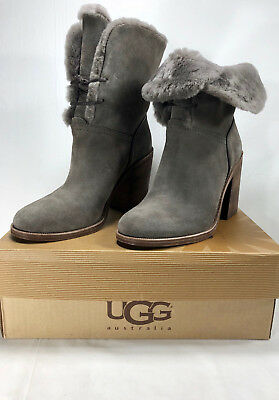 0ce39e9c8a4 UGG BOOTS JERENE WOMEN'S CHESTNUT SUEDE BOOT STYLE: 1018674 Size 9 ...