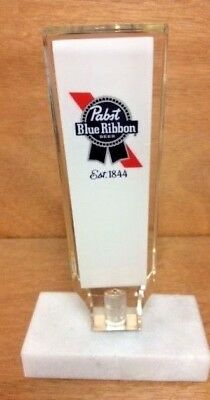 """Pabst Blue Ribbon Beer PBR Acrylic Tap - Handle New in Box  & Free Shipping ~ 6"""""""