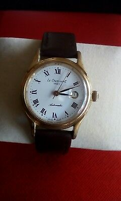 Swiss Le Cheminant1822 Ladies Automatic Watch White Dial,roman Numerals & Date