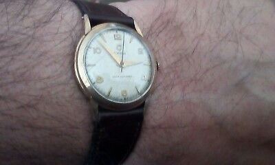 RARE VINTAGE CYMA WATCH 1950s FULLY SERVICED AND OILED GOOD WORKING CONDITION