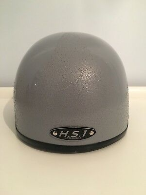Gatehouse HS1 Jockey Skull Cap New In Bag With Tags Silver 58cm & FREE HAT BAG