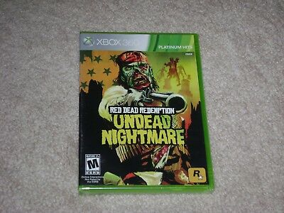Red Dead Redemption Undead Nightmare...xbox 360...***sealed***brand New***!!!!!!