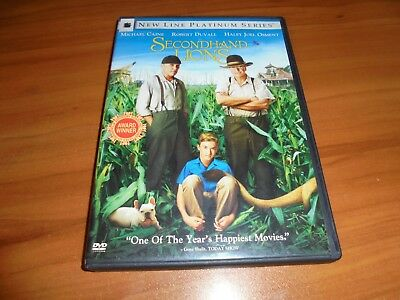 Secondhand Lions (DVD, 2004, Widescreen/Full Frame) Used Robert Duvall
