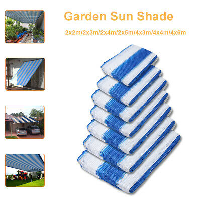 Sun Shade Sail Cloth Shadecloth Outdoor Garden Canopy Awning Rectangle Square
