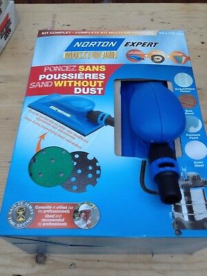 Norton Expert Multi Air Sanding Kit - Without Dust